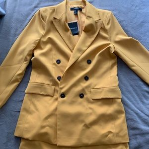 NWT Forever 21 Blazer and Short Set